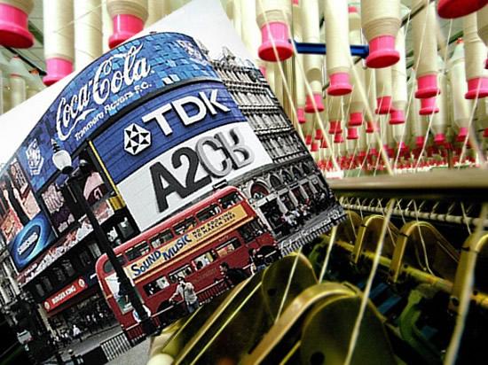 industria publicitaria e industria textil